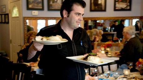 Eduardo Nobre owns the Portuguese restaurant Fado with