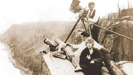 Pearl White, the ?Stunt Queen? of silent films,