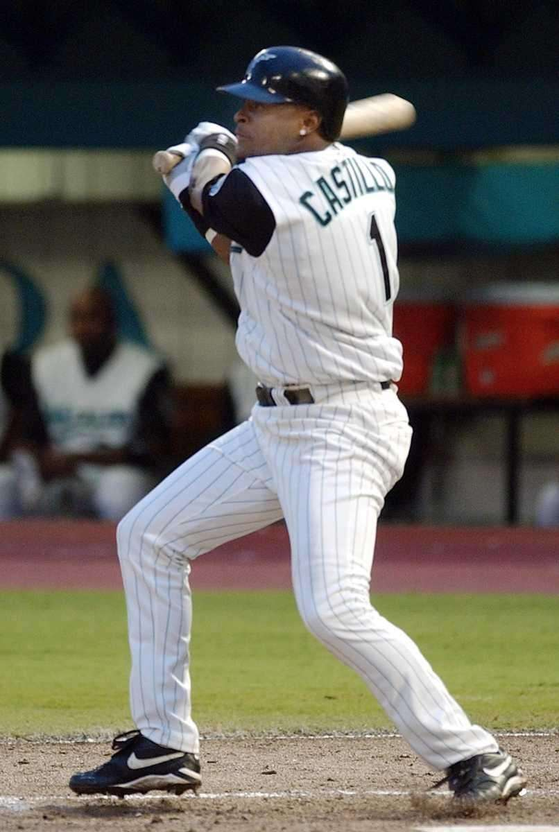 LUIS CASTILLO, Florida Marlins Hit streak: 35 games