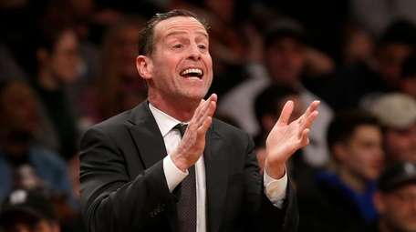 Nets coach Kenny Atkinson's relentless work ethic has