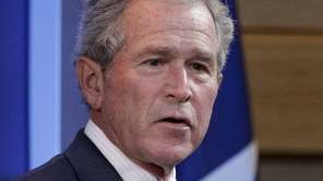 Former President George W. Bush at the The