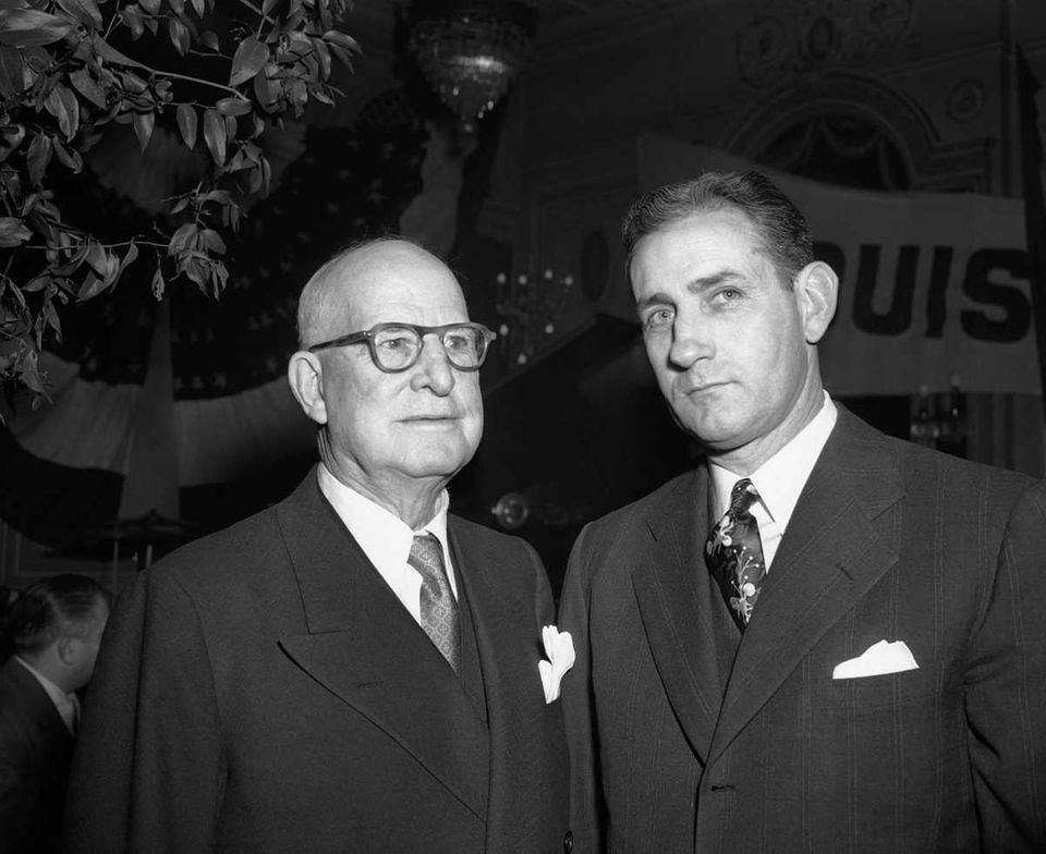 FRED CLARKE, Louisville Colonels (Left) Hit streak: 35