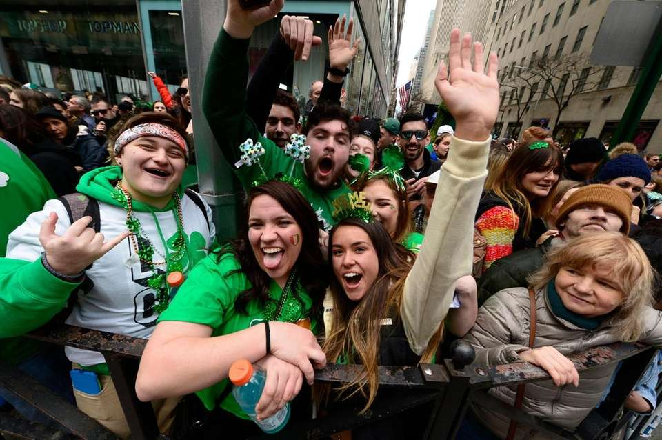 Thousands gather for the 2019 annual St. Patrick's