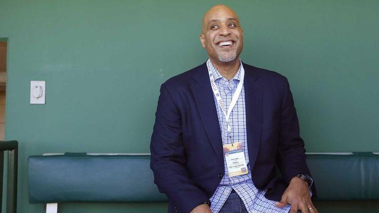 Tony Clark, executive director of the Major League