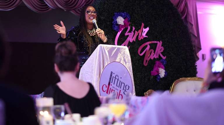 Stacie N.C. Grant hosted a fundraiser for Girlz