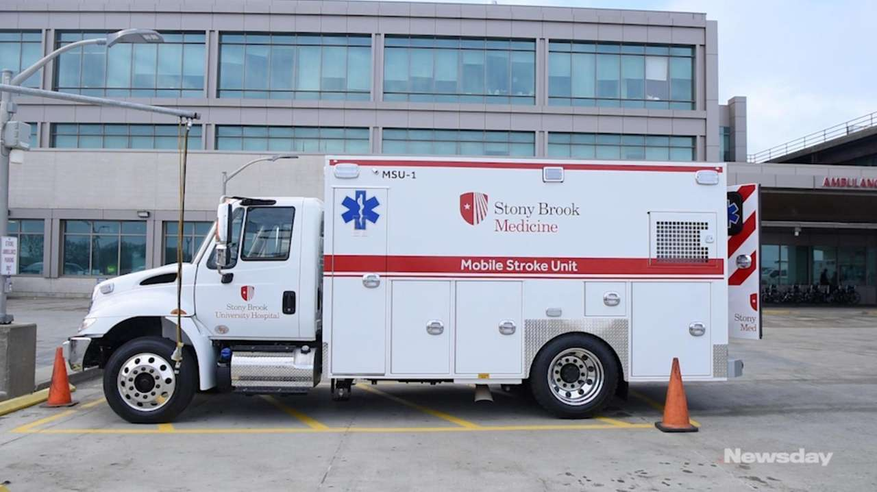 Stony Brook University Hospital has purchased two mobile