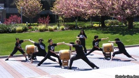 Stony Brook University Student Taiko group,