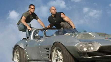 Brian O'Conner (Paul Walker) and Dom Toretto (Vin