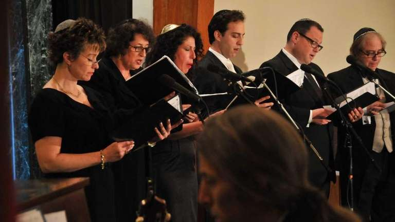Temple Beth Sholom had a cantorial concert Thursday