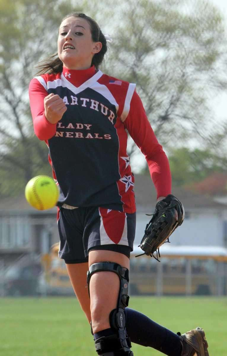 MacArthur's Kristen Brown allowed only one run. (May