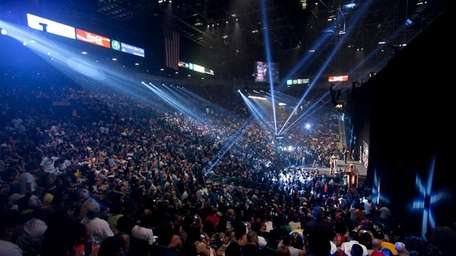 Over 6,000 people attended the Manny Pacquiao-Shane Mosley