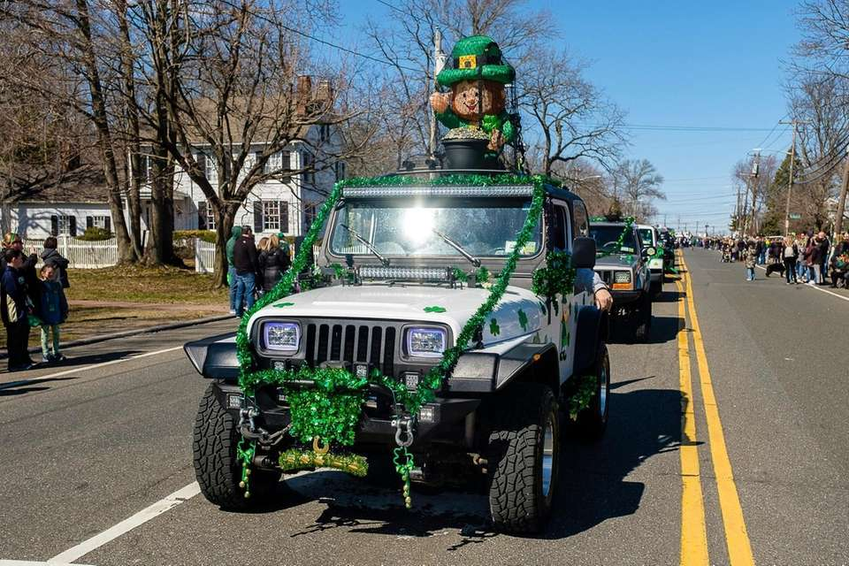 Wantagh's first St. Patrick's Day parade on Wantagh