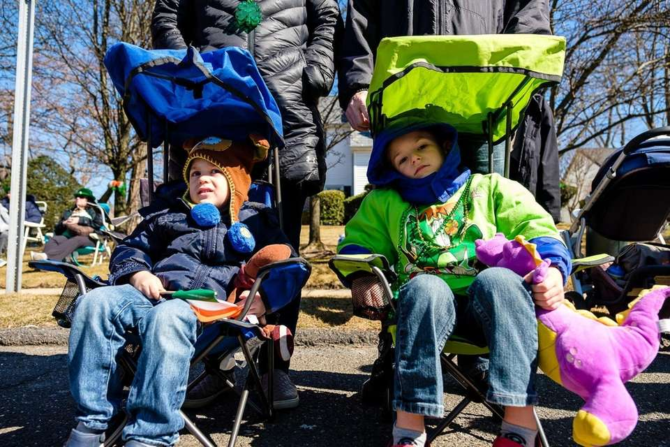 Luca, 2, and Nico DeLucie, 4, of Wantagh,