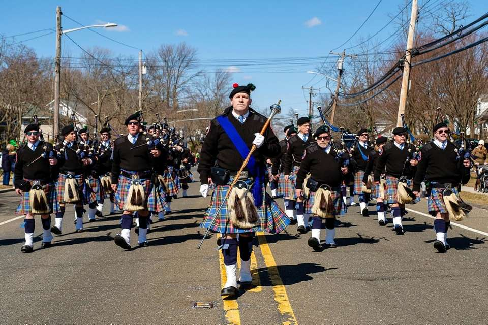 The Nassau County Police Emerald Society Pipes and