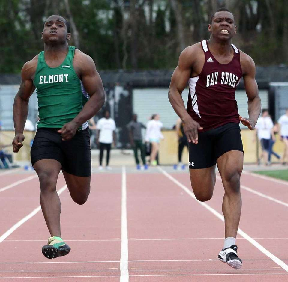 Bay Shore's Dayne Savory edges out Elmont's Jaquan