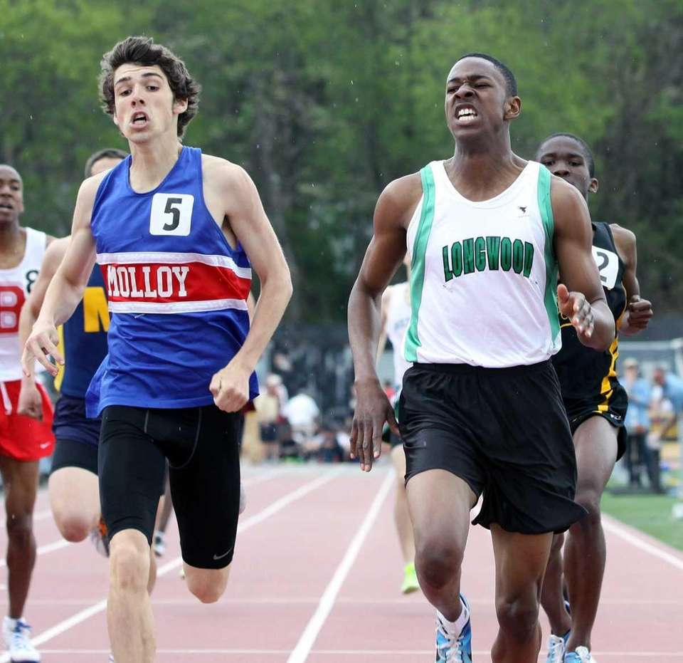 Longwood's Joe Fuller edges out Molloy's Patrick Cooney