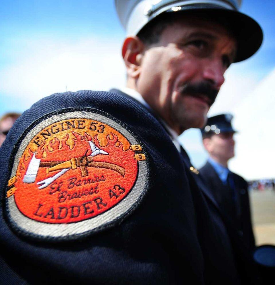 FDNY Lt. Tony Montaruli of Engine 53, Ladder