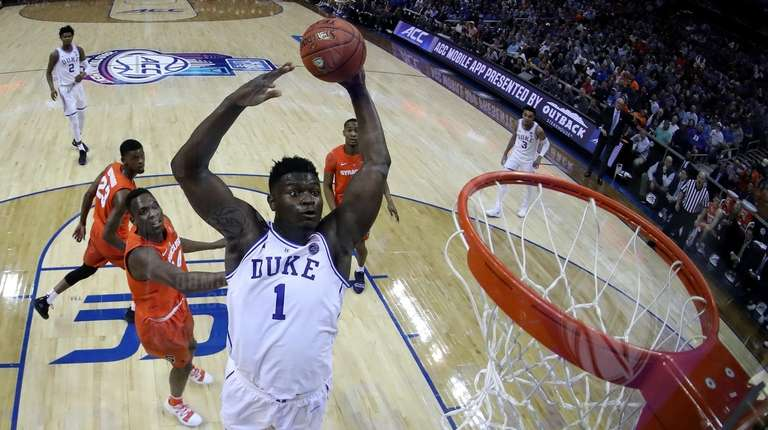 Duke's Zion Williamson Wouldn't Miss NCAA Tournament For