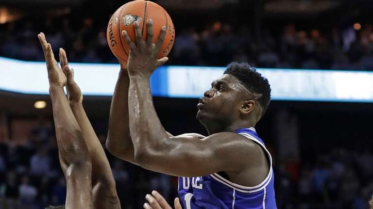 With Zion Williamson back, Duke is a daunting favorite in the East Regional