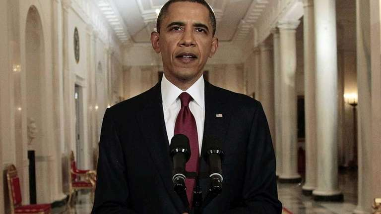 In this May 1, 2011 file photo, President