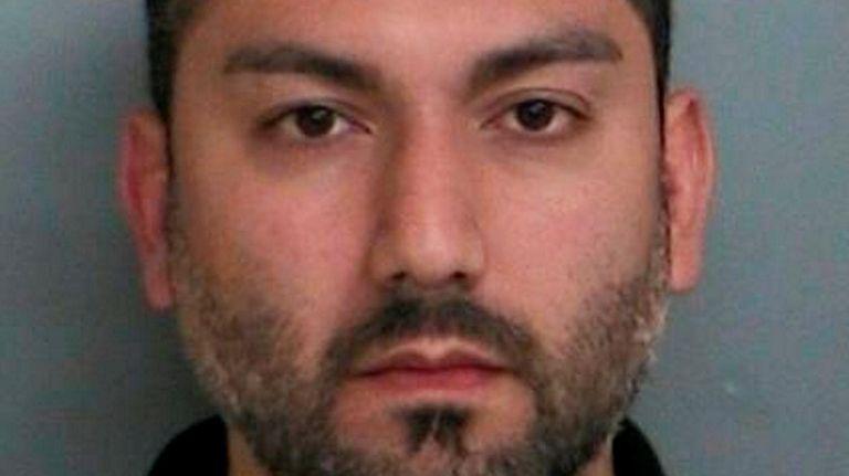 Arash Haghani, 38, of Farmingville, was arrested on