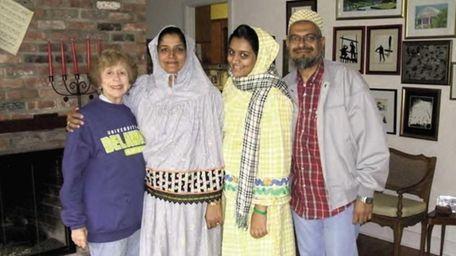 Shabbir Potia, right, lived with the family of