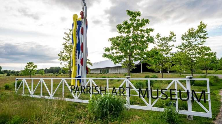The Parrish Art Museum in Water Mill will