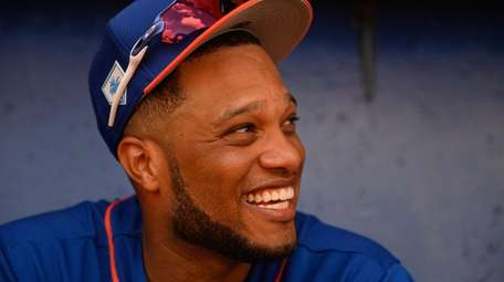 Mets infielder Robinson Cano after a split-squad game