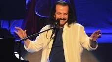 Yanni performs live at Sandler Center for the