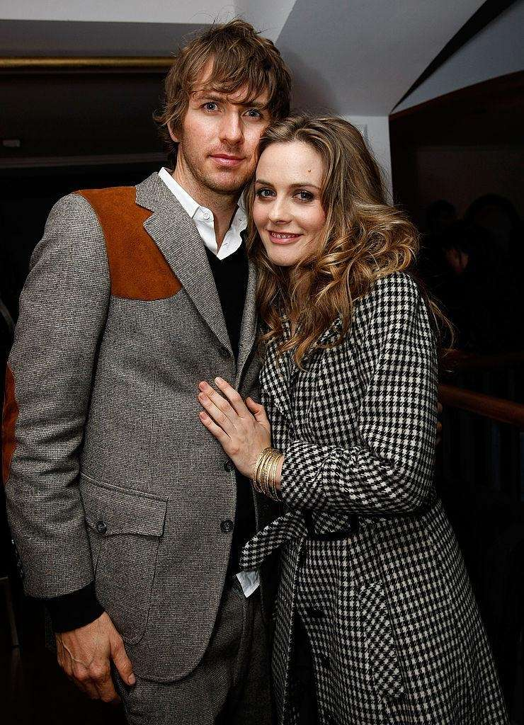 Parents: Alicia Silverstone and Christopher Jarecki Child: Bear