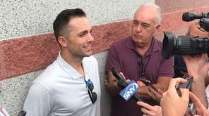 Former Mets captain David Wright at Mets spring