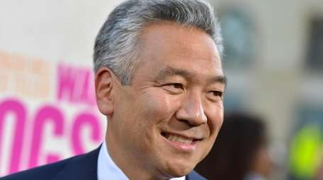 Kevin Tsujihara attends the Los Angeles premiere of