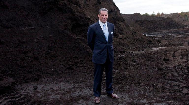 Charles Vigliotti, of Long Island Compost, seeks LIPA's
