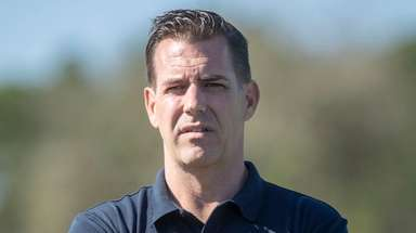 Mets GM Brodie Van Wagenen during a spring