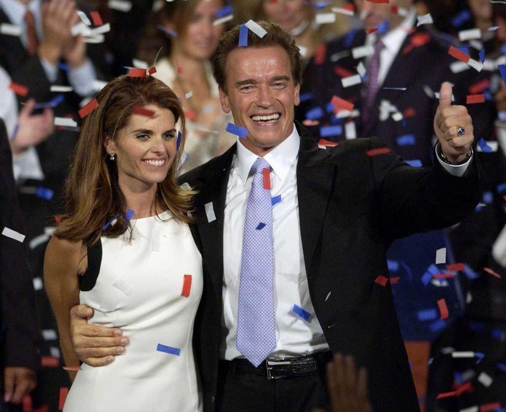 After former California Gov. Arnold Schwarzenegger announced that
