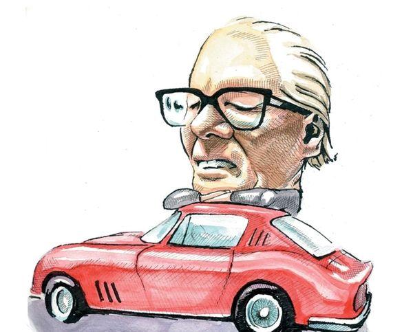 Auto designer Batista Pininfarina
