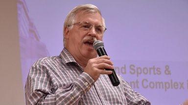 Brett Houdek, president of Medford Taxpayers and Civic