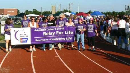 The Northport-East Northport Relay for Life has the