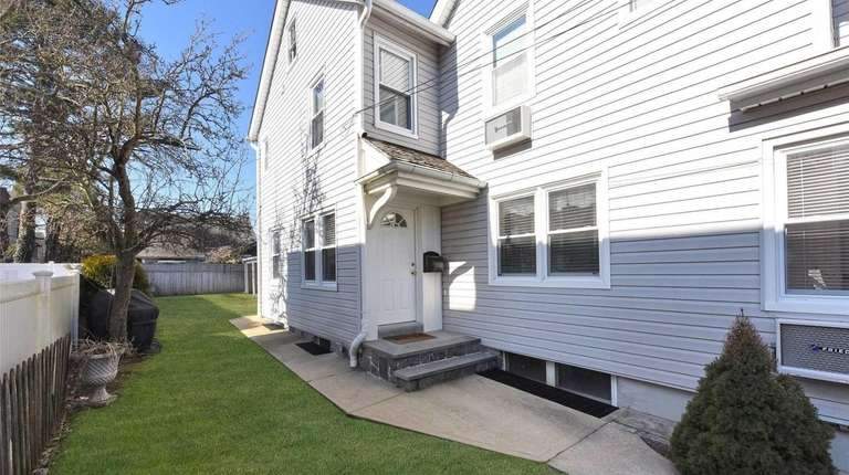 This Port Washington duplex, for $2,700 per month,
