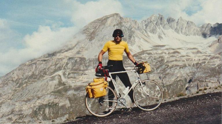 An undated photo of David Schlichting in Alpe