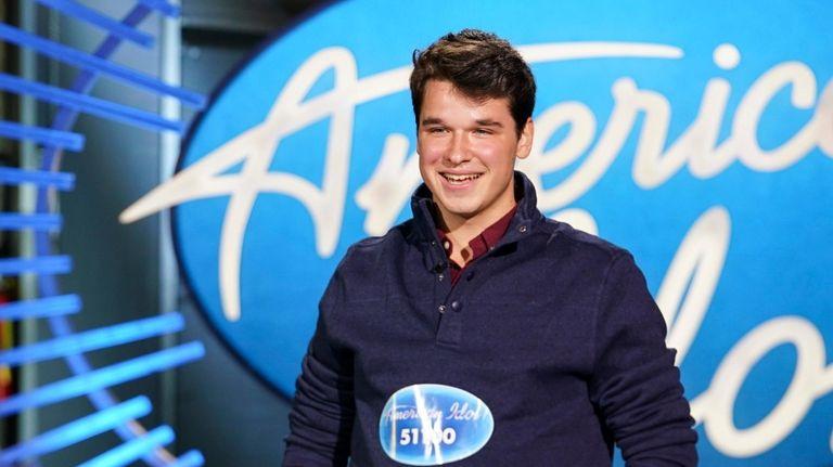 """Christiaan Padavan auditions on """"American Idol."""""""
