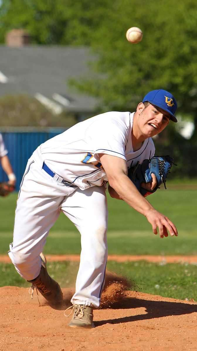 West Islip starting pitcher Christian Stancavage #23. (May