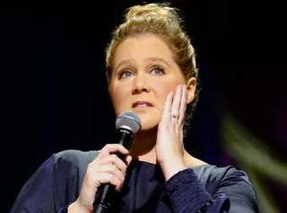 "Amy Schumer in her Netflix comedy special, ""Growing,"""