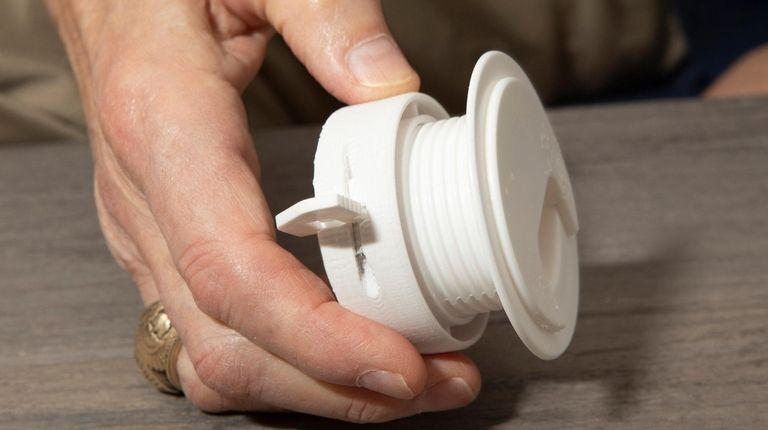 Inventor Tony Pagoto's new product, Twist Lock Grommet,
