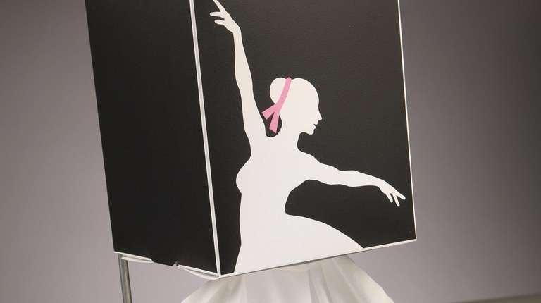 Ken Sobel's ballerina tissue box holder is popular,