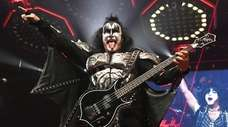 KISS, with Gene Simmons, performs at Nassau