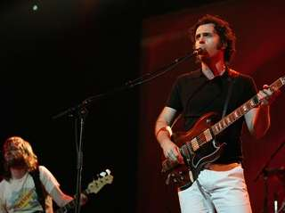 Dweezil Zappa performs on April 10, 2009, in