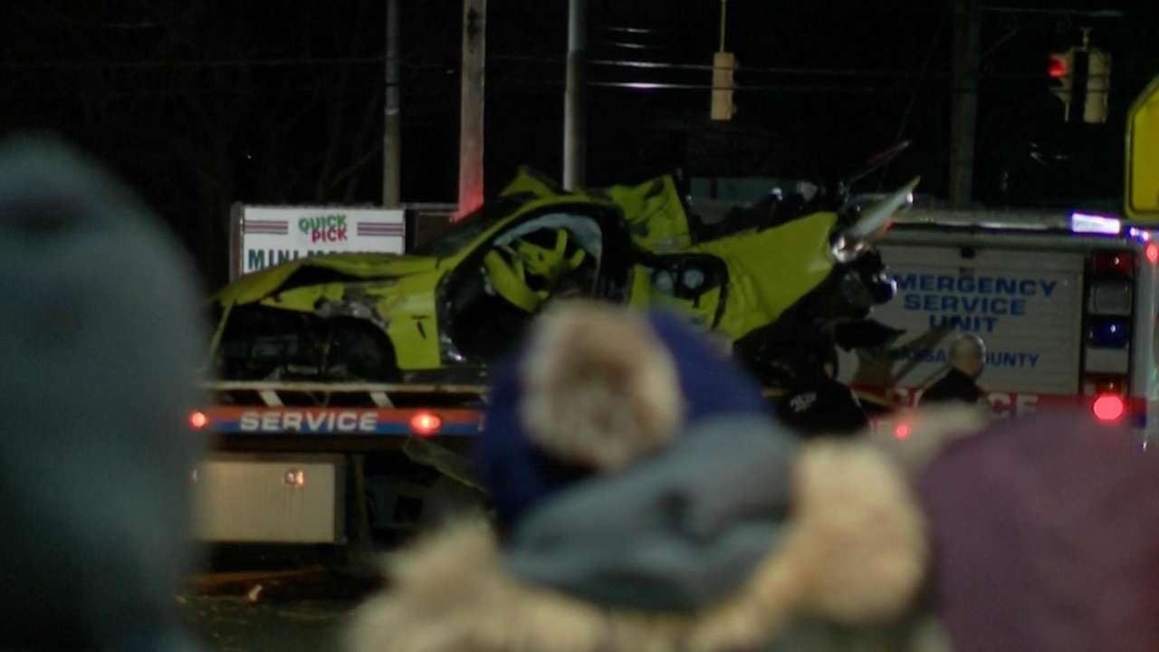 A two-car crash that killed one motorist early