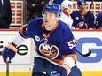 Islanders center Casey Cizikas skates against the Montreal