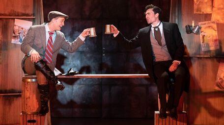Danny Gardner, left, and Sean Yves Lessard star